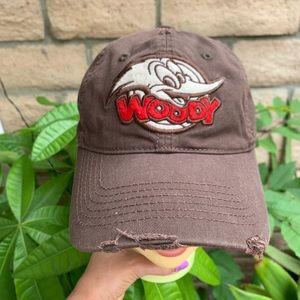 Woody Woodpecker Distressed Cap